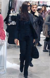 Dressing Wardrobe by Monica Bellucci Looks Stylish While Out Shopping For Bras
