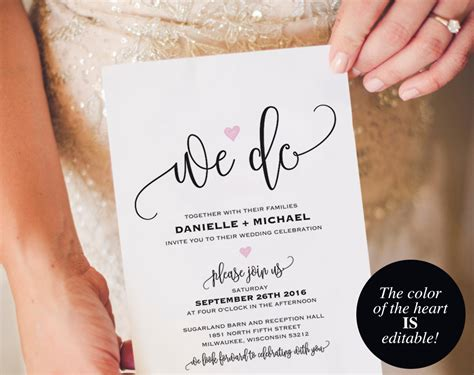 etsy wedding invitation template we do wedding invitation template wedding invitation