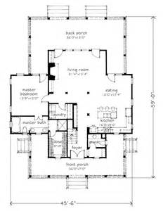 House Plans With Big Bedrooms House Plan Four Gables Sl 1832 A Southern Living Plan