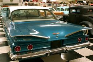 1960s Chevrolet Cars 1960 Chevrolet Biscayne Rear View