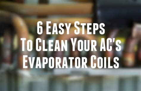 Evaporator Evap Cooling Coil Ac Honda City Z Sirip Kasar Besar New 1 6 easy steps to clean your air conditioner s evaporator coils