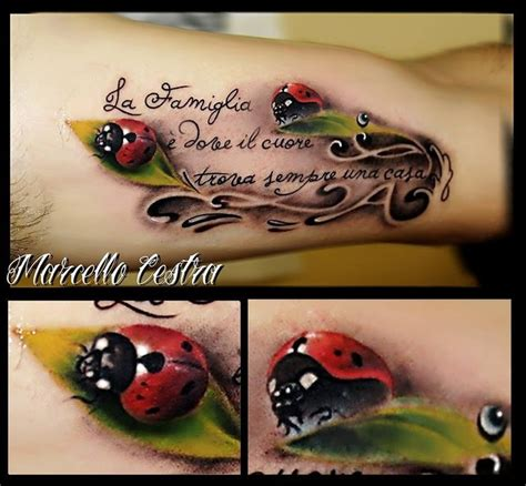 ladybug tattoo ideas 3d ladybug tattoos beautiful