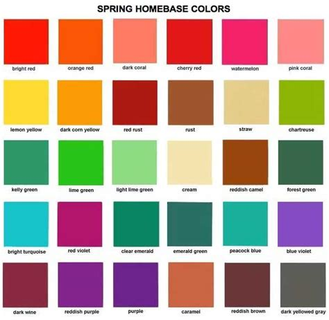 spring colors 163 best warm true spring images on pinterest spring
