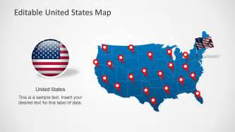 editable united states map united states map template for powerpoint slidemodel