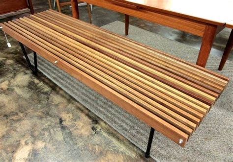 wood slats for bench artisan made slat bench with reclaimed wood slats metal detailing and reclaimed metal