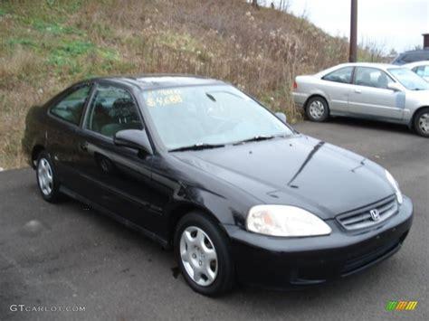 1999 Honda Civic Ex by 1999 Flamenco Black Pearl Honda Civic Ex Coupe 58396727