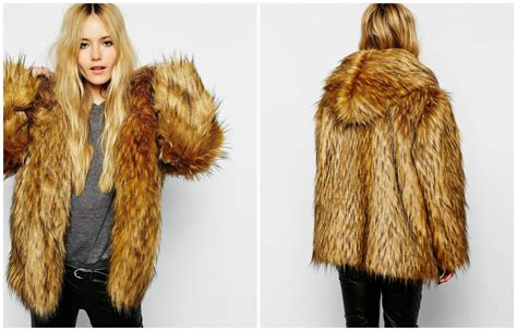 Faux Fur Hooded Coat style trunk lust of the week hooded faux fur coat