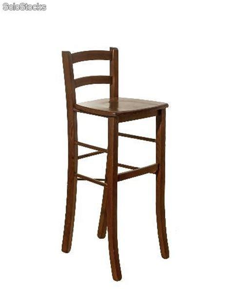 sedia sgabello sedia sgabello in legno massello alto 80 cm noce scuro
