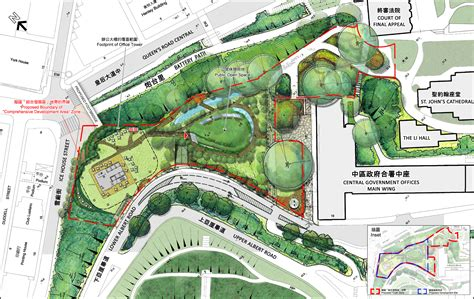layout master plan revised scheme after pubic consultation