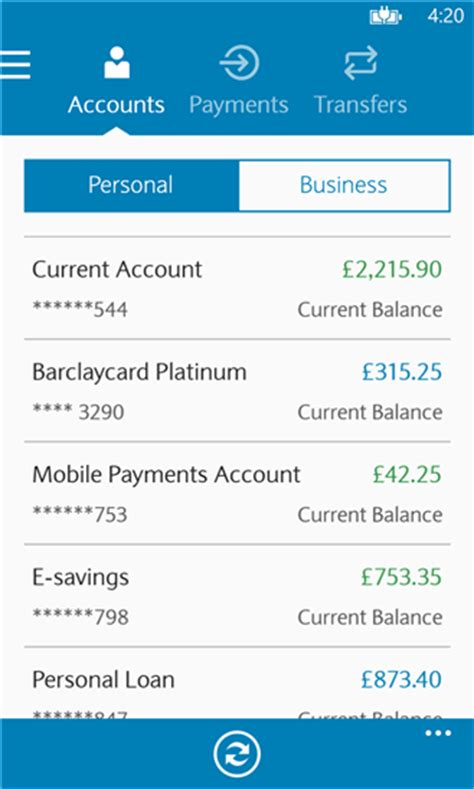 make a bank account barclays barclays mobile banking app finally here mspoweruser