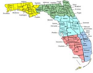 county map of florida with cities maps of florida counties free printable maps