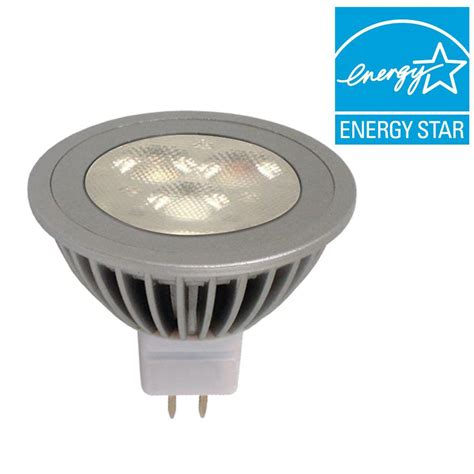 Ge Flood Lights by Ge 50w Equivalent Bright White 3000k Mr16 Dimmable Led
