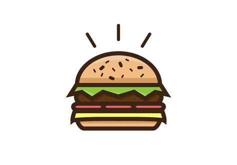 free clipart vector thick burger vector free vector stock