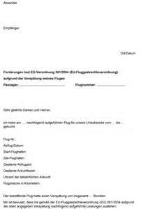 Musterbrief Englisch Reklamation Musterbrief F 252 R Entsch 228 Digung Bei Flugversp 228 Tung Flugrechner