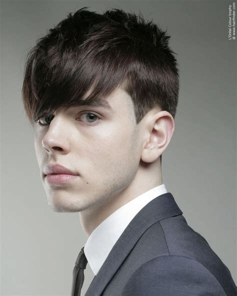 hair ears cut hair classic young men s hairstyle with clean lines and the