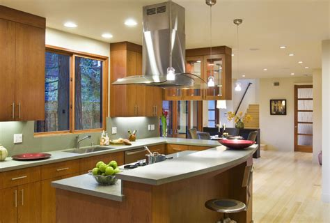 kitchen island range hoods 4 types of kitchen range hoods to transform your kitchen