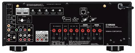 yamaha rx  av receiver review sound vision