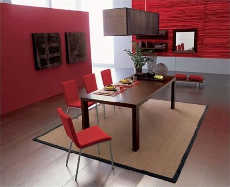 red dining room ideas modern red dining room decorating design ideas