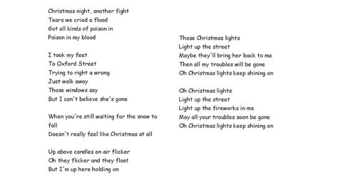 coldplay christmas lights lyrics christmas decore