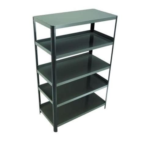 husky 24 in d x 48 in w x 74 in h steel shelving unit