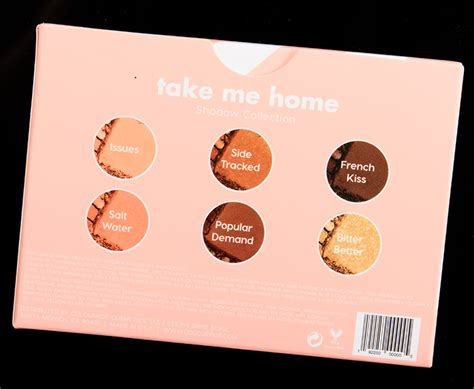 Colourpop Pressed Shadow Side Tracked colourpop take me home pressed powder shadow palette review photos swatches