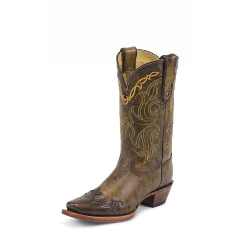 tony lama womens boots s tony lama 174 sante fe boot bark 578521 cowboy