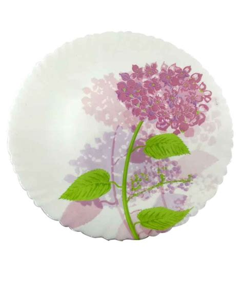 Dinner Set Agatha Flower luminarc hortensia pink 27cm large dinner plate buy at best price in india snapdeal