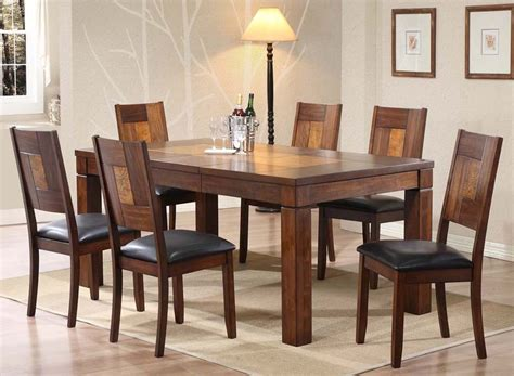 Solid Wood Dining Room Tables And Chairs by Solid Wood Extending Dining Table And Chairs 6656