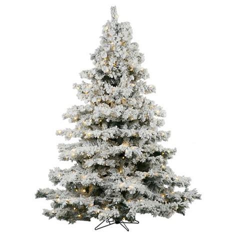 6 5 ft alaskan dura lit flocked christmas tree target