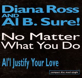 diana ross no matter what you do and obscure al b sure