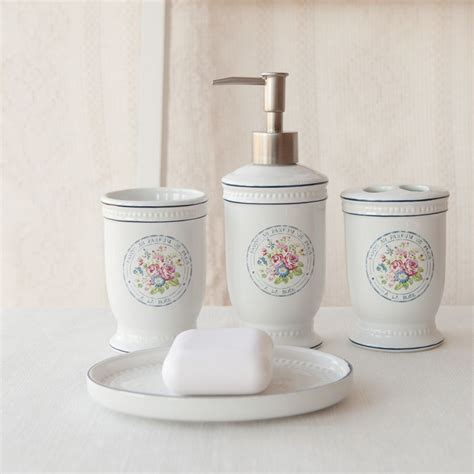 french bathroom accessories sets bathroom decor accessories shabby chic bathroom