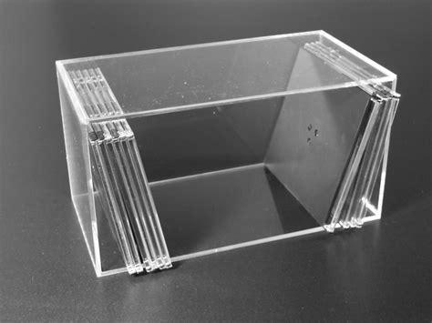 porta cd plexiglass contenitore porta cd plexiglas trasparente 187 artegrafica