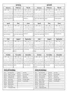 year calendar template 2015 2015 two year calendar free printable templates