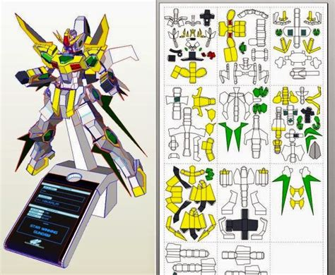 Paper Craft Pdf - papercraft templates gundam papercraft sd 273s