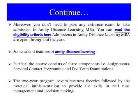 Amity Mba Value amity distance learning mba in marketing and sales