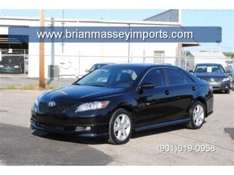 2007 Toyota Camry Se For Sale Used 2007 Toyota Camry Se V6 For Sale Stock 1044