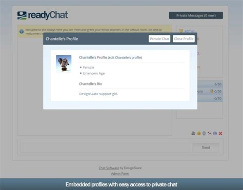 readychat php ajax chat room by designskate codecanyon