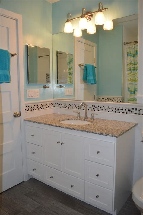 modern kids bathroom bright beachy modern kids bathroom