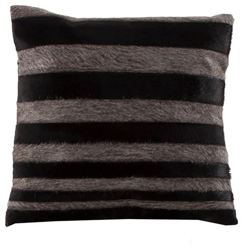 Throw Pillows For Black Leather by Vical Home Black Leather Throw Pillow