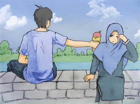 film islami sedih 19 gambar kartun islami romantis sedih anak lucu bergerak