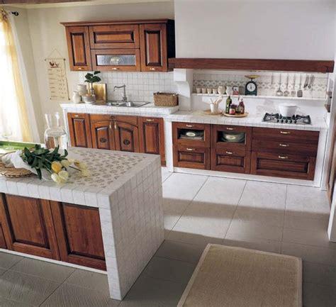 piastrelle per cucina rustica cucina in muratura 70 idee per cucine moderne rustiche