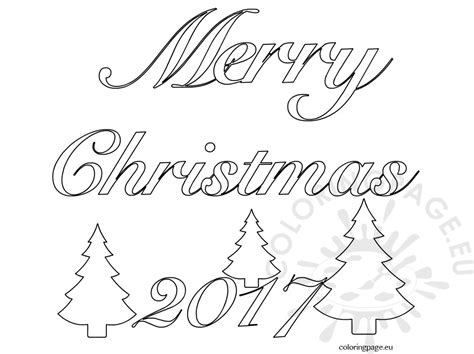 Merry Words Coloring Pages Merry Christmas 2017 Clip Art Word Coloring Page
