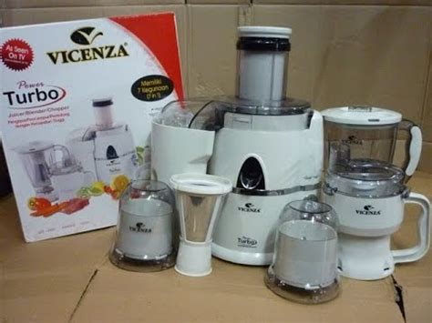 power blender juicer vicenza 7in1 vt 337 unboxing