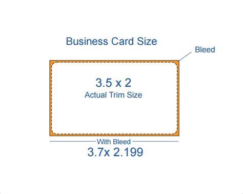 10 Free Sle Business Card Templates Sle Templates Card Size Template