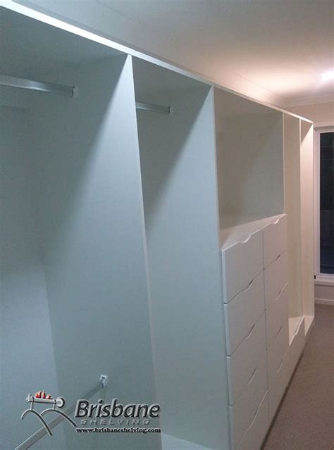 brisbane sliding custom built out walk in flat pack