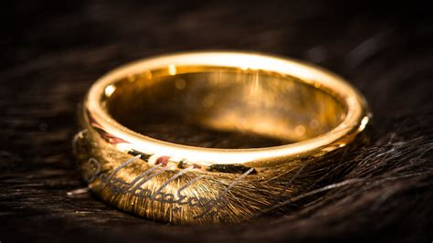 gold ring from lord of the rings wallpapers and images