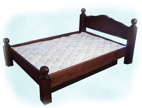 water bed frame water bed frames 5 board pine waterbed hardside frame