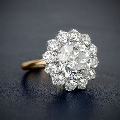 1000 ideas about cluster engagement rings on
