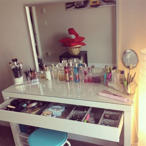 beauty blogger vanity table suggestions ikea makeup storage table dressing ikea makeup storage table with stylish and modern design