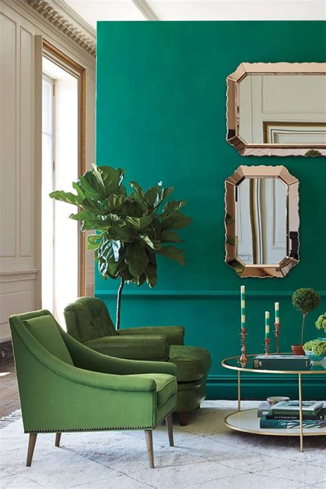 teal color room color clash emerald and teal emily henderson trends
